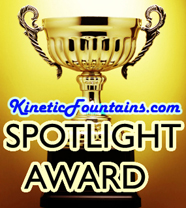 Kinetic Fountains Award